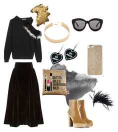 """""""Untitled #39"""" by aufarahma on Polyvore featuring Seafolly, Gianvito Rossi, A.W.A.K.E., Christopher Kane, Sephora Collection, Michael Kors, Witch Worldwide and Lacey Ryan"""