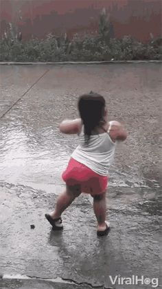The perfect Dance Rain KidDancing Animated GIF for your conversation. Discover and Share the best GIFs on Tenor. Dance Gif, Dancing Animated Gif, Funny Babies, Funny Kids, Cute Babies, Little Girl Dancing, Dancing In The Rain, Rain Animation, Rain Gif