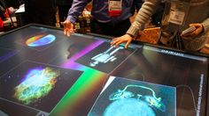 3M unveiled an enormous 84-inch multitouch table at CES today, following up on the 46-inch display the company announced here last year. The table is still in prototype mode, but already supports...