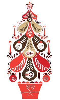 Leading Illustration & Publishing Agency based in London, New York & Marbella. Christmas Tree Painting, Christmas Canvas, Christmas Drawing, Christmas Mood, Christmas Images, Christmas Design, Tree Illustration, Christmas Illustration, Illustrations