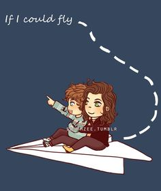 """If I Could Fly"" Larry"