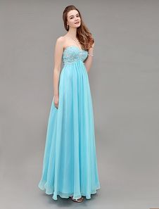 Blue Sweetheart Long Chiffon Prom Dress With Embroidered Bodice Get up to 70% Off on apparel at milanoo Coupon and Promo Codes.