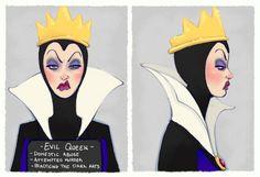 Villain Mugshots - Evil Queen