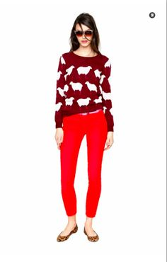 Madewell Fall 2012. This sweater is really random, but totally awesome!
