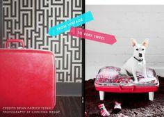 pet project: diy suitcase pet bed