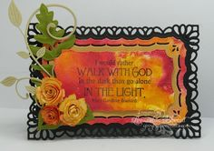 Walk with God/IC393 by whippetgirl - Cards and Paper Crafts at Splitcoaststampers