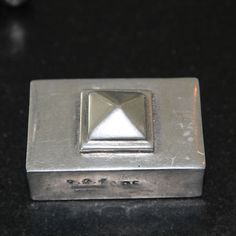 Munka Sweden - Pyramid cover for matchesbox.