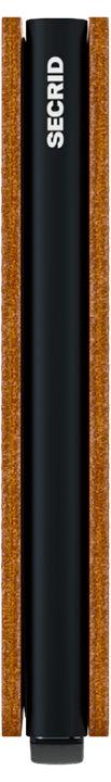 Secrid Slimwallet Perforated, Cognac