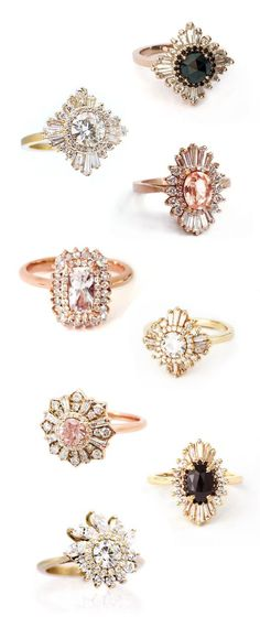 heidi gibson engagement and wedding rings #bride #wedding #bloggers