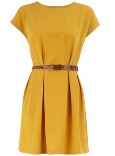 Colour: Mustard yellow dress