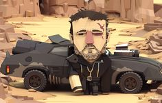 Mad Max Characters on Behance