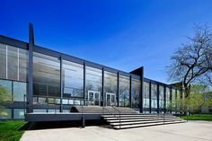 IIT, Crown Hall   Chicago, IL   Mies van der Rohe by Pete Sieger, via Flickr