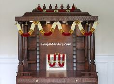 This is our premium collection in medium size open models. This style of pooja mandir is a good choice for clients who have a dedicated pooja room. Mandir Design, Pooja Mandir, Pooja Room Door Design, Puja Room, Prayer Room, Room Doors, Stain Colors, Paper Cutting, Diy And Crafts