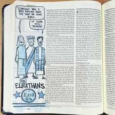 Comix Exegesis is an ongoing Bible project that began in Summer Blue Bible, Illustrated Faith, Bible Art, Scripture Verses, Bullet Journal, Lettering, Art Journaling, Rock, Artwork