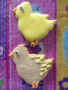 Chick Cookies by Carmen