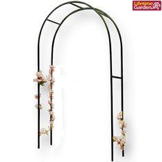 Arco da giardino per rose piante rampicanti struttura metallo 1,40 x 2,40 metri.