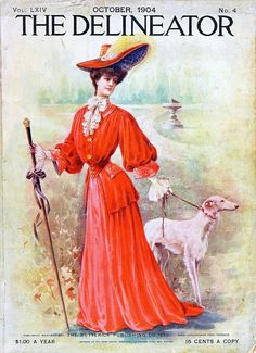 Over a century on, this gorgeous October 1904 magazine cover still sparkles with colour and perpetual beauty. Vintage Labels, Vintage Ephemera, Vintage Ads, Vintage Images, Vintage Posters, Printable Vintage, Vintage Dress, Old Magazines, Vintage Magazines