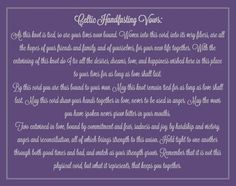 """Celtic Handfasting Vows This is perfect! Change """"Two entwined in love"""" to """"Three entwined in love and friendship"""" Wiccan Wedding, Celtic Wedding, Irish Wedding, Our Wedding, Dream Wedding, Wedding Stuff, Viking Wedding, Elopement Wedding, Wedding Ceremony Script"""