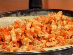 Crawfish Fettuccini - this is wonderful.  Hubby raves about it.  we required more spice but that's easy.