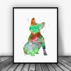 French Bulldog Art Print Poster by Carma Zoe From $10.00