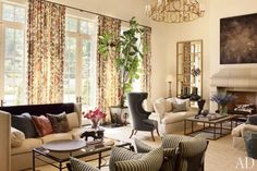 Suzanne Kasler and William T. Baker Create a Casual Atlanta House
