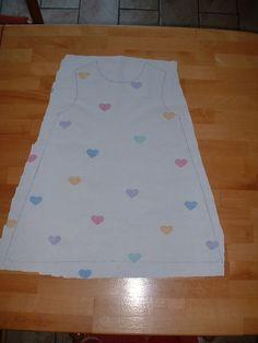 TUTO: facile, une robe trapèze 2 ans, en 2h30