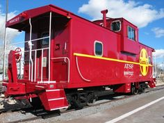 6. This supposedly haunted caboose that doubles as a hotel room in Williams.