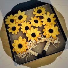 Dnes odovzdane svadobne pierka na slnecnicovu svadbu. Nech je cely spolocny zivot slnieckovy!!