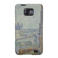 View from Theo's Apartment by Vincent Van Gogh Galaxy SII Covers