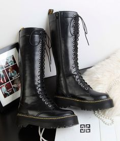 Dr martin boots platform 20 2013 autumn and winter bandage motorcycle tall boots-inBoots from Shoes on Aliexpress.com