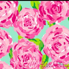 Lilly Pulitzer Pattern - a classic