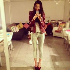 Een selfie met een Faubourg broek!