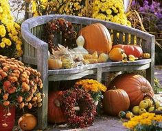 Beautiful Fall decor......