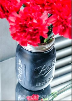 Teacher Gift Pencil Holder Mason Jars
