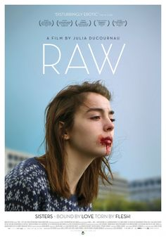 Raw Movie Poster / Affiche http://ift.tt/2li99DI