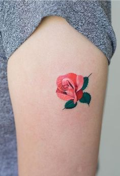 Zihee flower tattoo