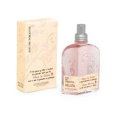 L'Occitane Cherry Blossom Eau de Toilette ($40) ❤ liked on Polyvore