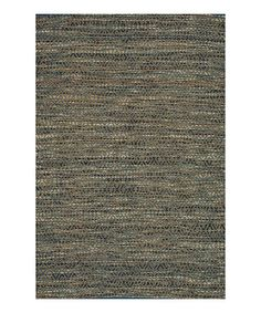 Take a look at this Blue & Natural Leyton Rug by Loloi Rugs on #zulily today!