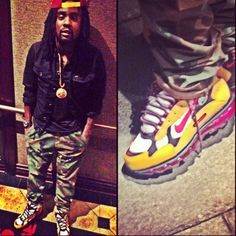 Sometime a nega just wan get fly in kicks!