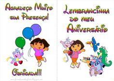 Fazendo a Nossa Festa - Colorir: Dora Aventureira - Livrinho de Atividades!
