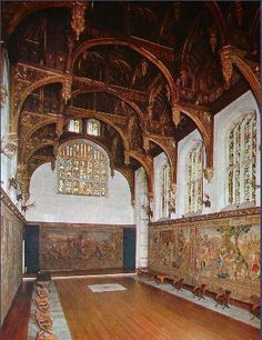 Hampton Court Palace, the Tudor Great Hall, UK Tudor History, British History, Asian History, Renaissance, Hampton Court, Hampton Palace, Richmond Upon Thames, Tudor Dynasty, Tudor Era
