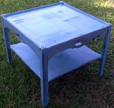 Upcycled Hand Painted Chalk Painted Table