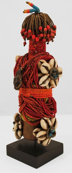"Africa | Fertility Doll ""ham pilu"" from the Fali people of Cameroon 