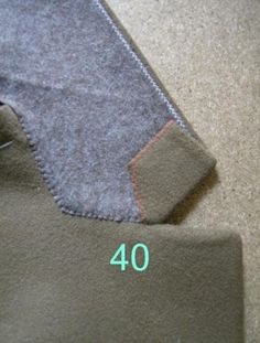 Sewing Techniques Advanced The Great Coat Sew-Along: Shaping the Lapels and Collar: a tutorial from Paco Peralta Tailoring Techniques, Techniques Couture, Sewing Techniques, Sewing Hacks, Sewing Tutorials, Sewing Projects, Sewing Coat, Sewing Clothes, Clothing Patterns