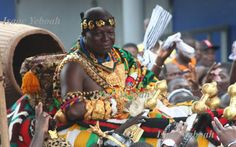 , the king of the Ashanti Empire and, because they control much of the gold and cocoa in Ghana, one of the most powerful tribal chiefs in West Africa. You can visit