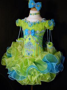 Mega Glitz Pageant Cupcake Dress - MADE TO ORDER - Original Design - Free Shipping. $549.00, via Etsy.