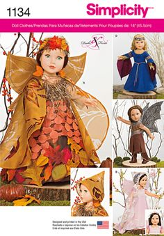 """Simplicity Creative Group - Mystical Clothes for 18"""" Dolls"""