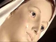 St Mary Statue Crying In Medjugorje