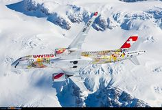 Aviation Photo Bombardier CSeries - Swiss International Air Lines Aeroplane Flight, Jet Airlines, 4 Photos, Transportation, Aviation, Aircraft, Air Lines, Planes, Travel