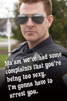 Funny cop lines